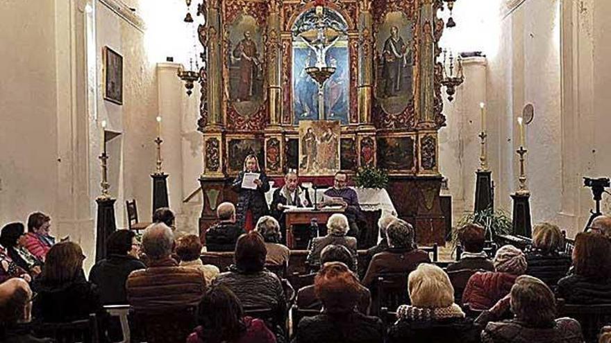 Homenaje al Pare Bartomeu Melià en Porreres