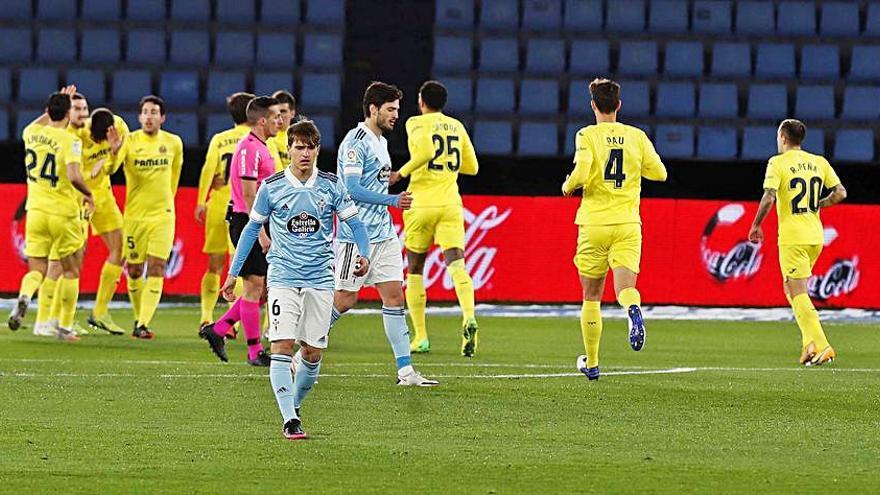 El Villarreal golea en Balaídos en solo media hora