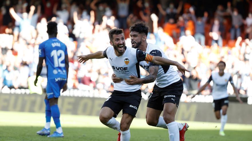 El Valencia rescata un empate en la prolongación ante el Mallorca