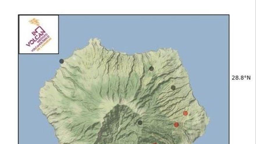 El Involcan registra cerca de 140 seísmos en La Palma