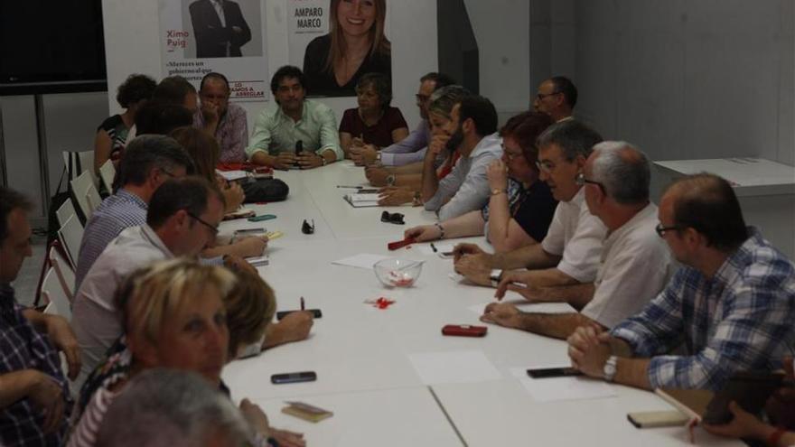 Los candidatos del PSPV apuran la negociación para lograr consensos