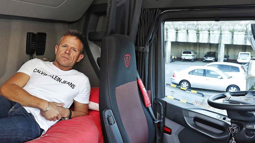 """Los camioneros: """"Falta personal porque el sueldo es de becario"""""""