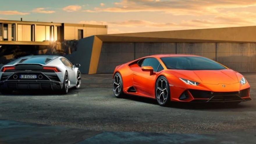 El Lamborghini Huracán EVO 2020 estrena el servicio de asistencia Alexa