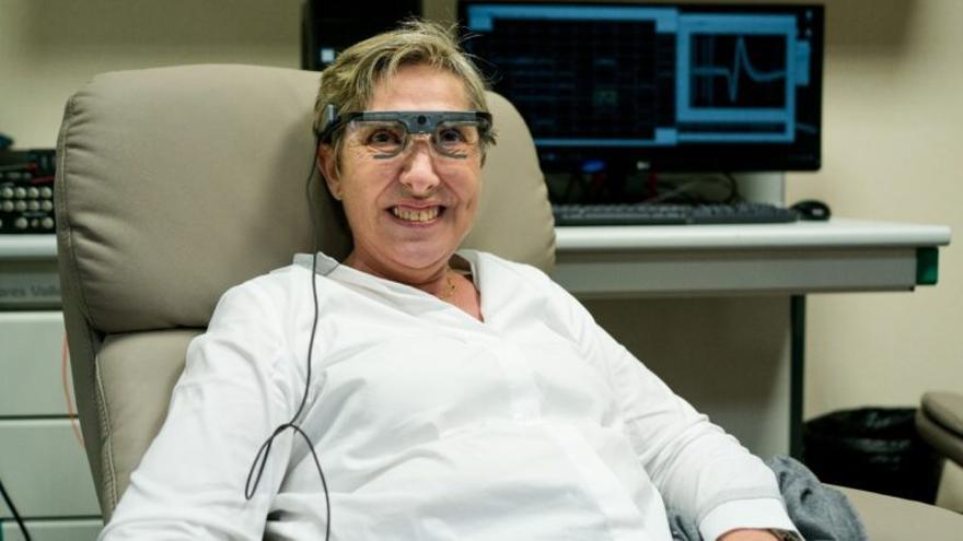 Un implante cerebral permite ver a los ciegos a través de una cámara