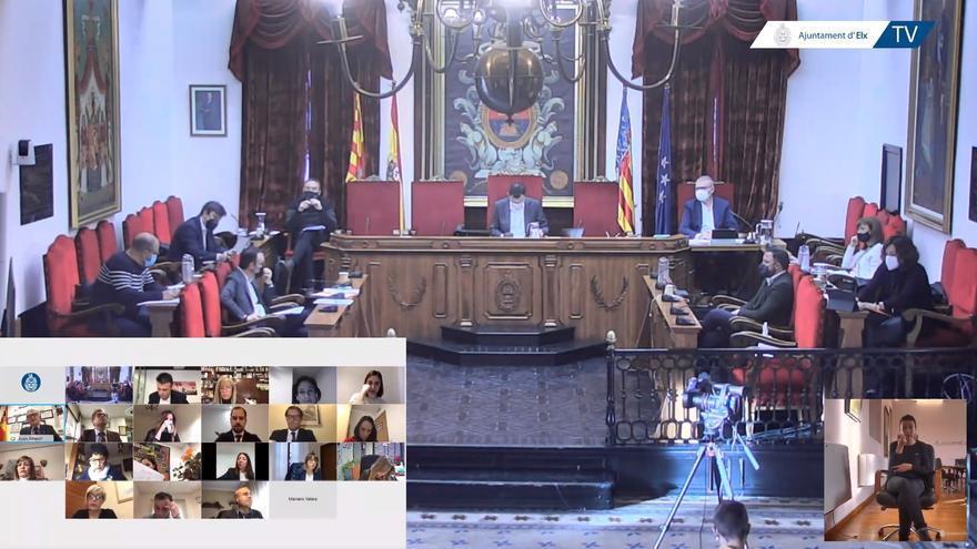 El PP estudiará llevar a los tribunales al ejecutivo de Elche por contratos en 2019