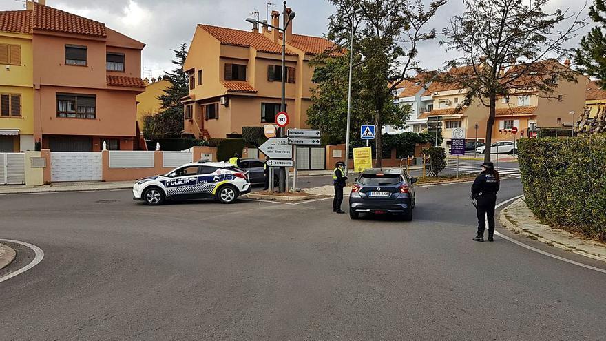 Torrent y Paterna registraron durante   el cierre perimetral 182 multas diarias