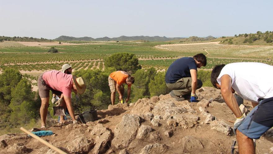 Comienza una nueva edición de la excavación del Escabezado de Jumilla