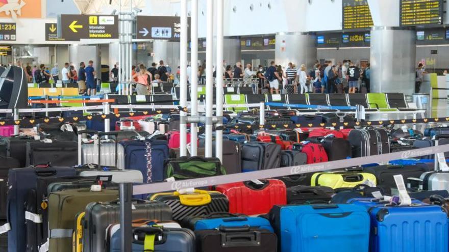 Normalidad en el aeropuerto de Gran Canaria