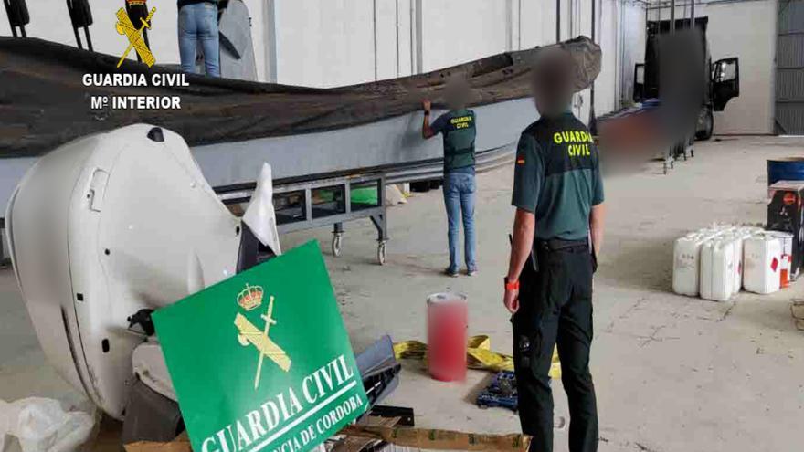 Dos detenidos en Lucena por un presunto delito de contrabando