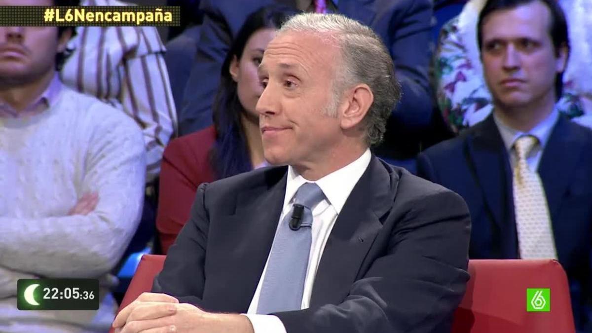 Eduardo Inda en una de sus intervenciones de 'La Sexta Noche'.