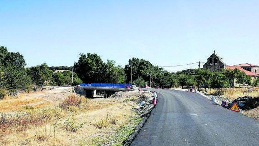 La empresa que mejora la carretera de Badilla a Portugal, a punto de rematar las obras