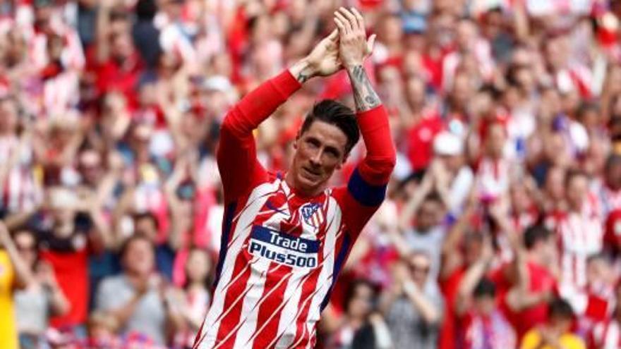 Fernando Torres diu adeu a l'Atlètic de Madrid amb un doblet contra l'Eibar al Wanda