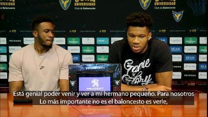 """Giannis Antetokounmpo: """"Alex está en una ciudad para ser mejor jugador"""""""