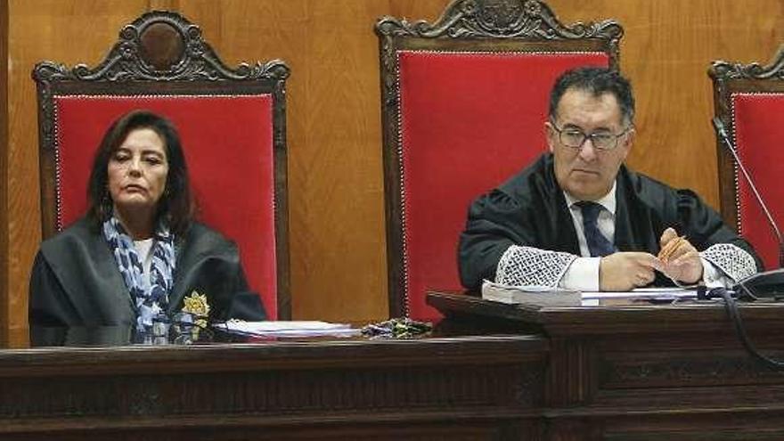 Antonio Piña y Ana Blanco exponen mañana ante el Poder Judicial su candidatura a presidir la Audiencia