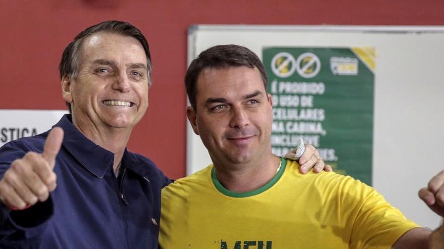 El hijo mayor de Bolsonaro da positivo en coronavirus