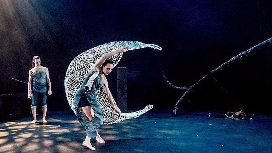 L'Off Romà tanca les actuacions a la Glorieta amb «Órbita», de la companyia Zen del Sur