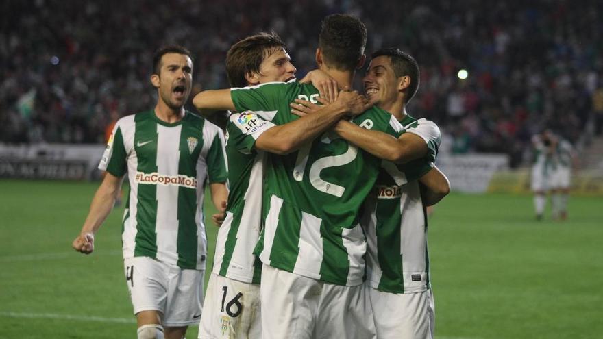 El balance, muy favorable para el Córdoba CF en sus partidos ante la Real Sociedad en El Arcángel