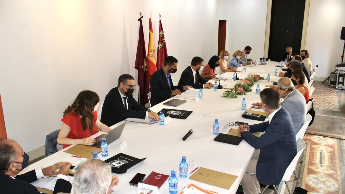 Consejo Interuniversitario, este viernes, celebrado en el campus de Lorca