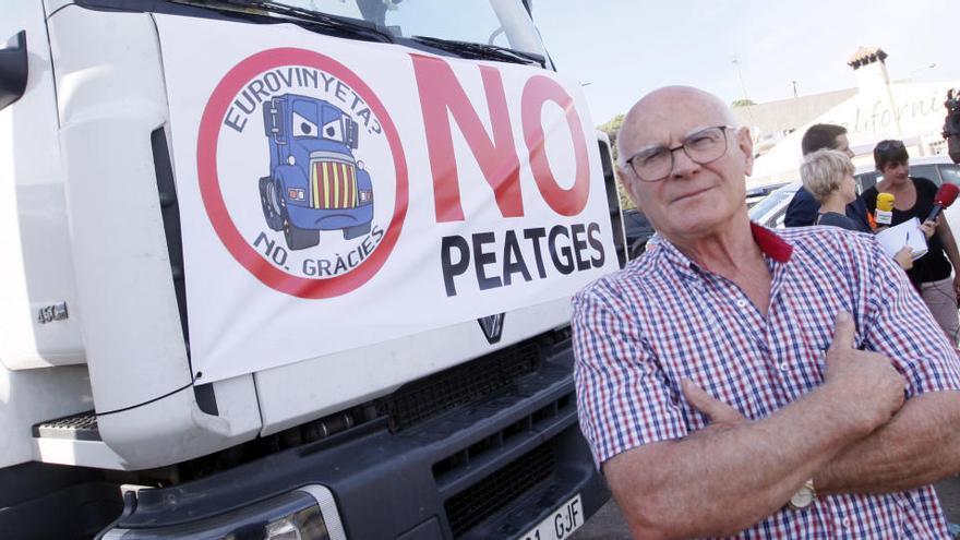 Mor Joan Prada,empresari garrotxí del transport