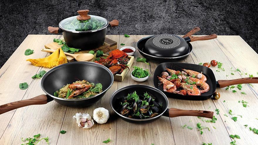 Para elaborar los mejores platos necesitamos menaje de calidad y con la garantía de una buena marca como Magefesa