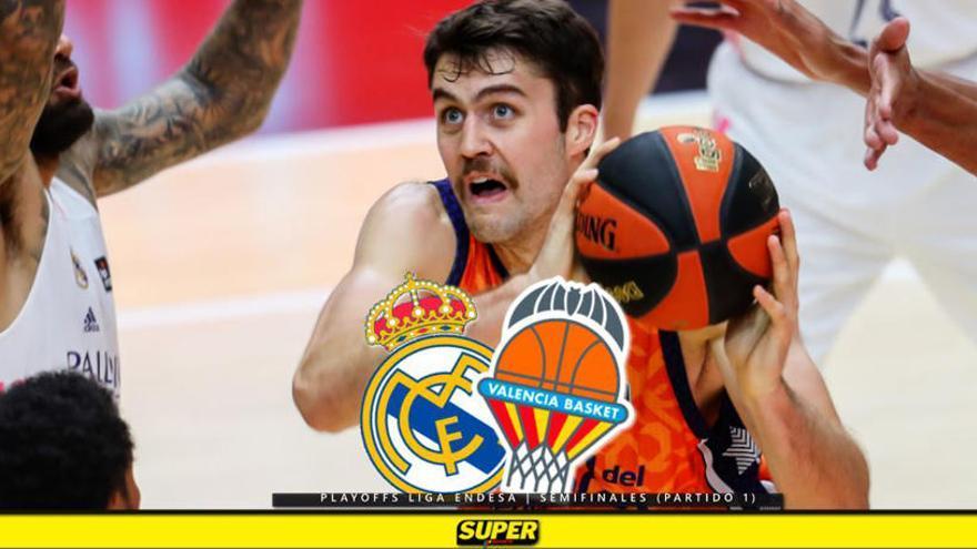 El Valencia Basket empieza mal las semifinales