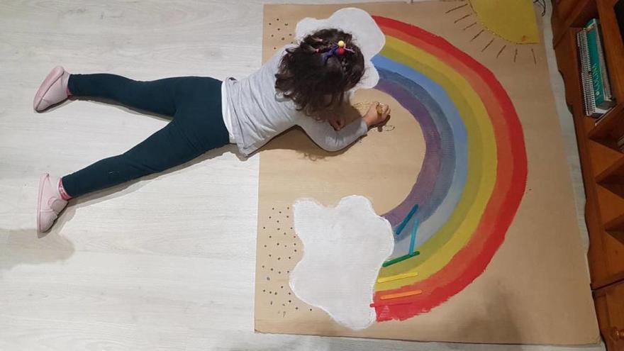 Los niños multiplican su creatividad durante el confinamiento