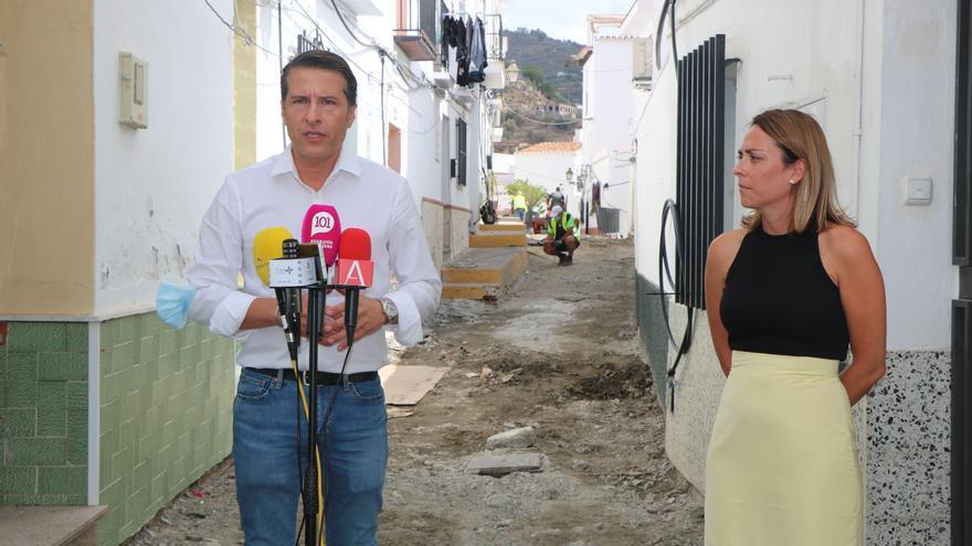 El Ayuntamiento de Torrox invierte más de 300.000 euros en la mejora del casco histórico
