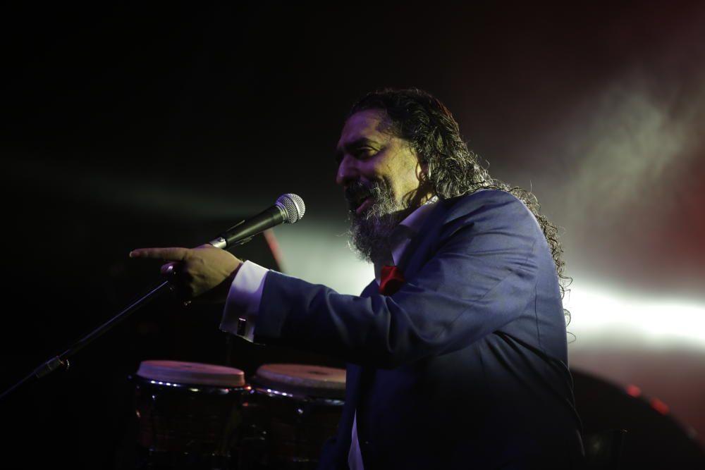 'El Cigala' apaga  la música de Port Adriano con un vibrante concierto