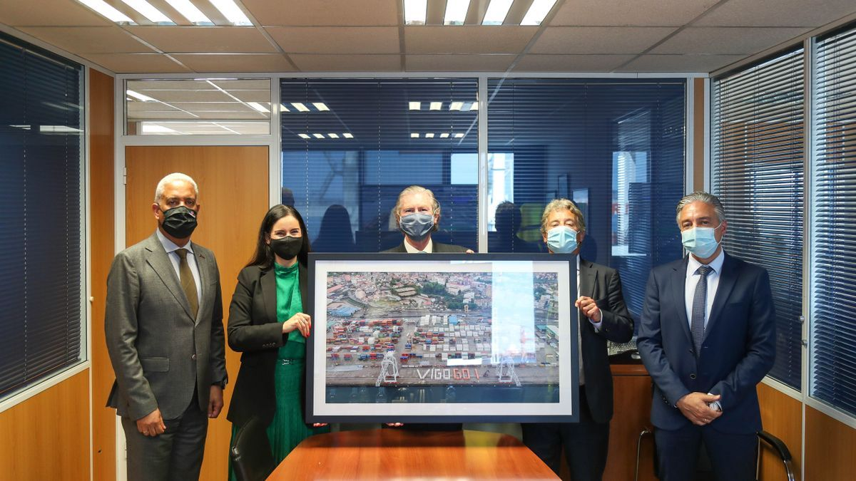 Tomás Palacios, Patricia García, Eduardo Davila, Víctor Jáuregui y José Manuel Reimundes.