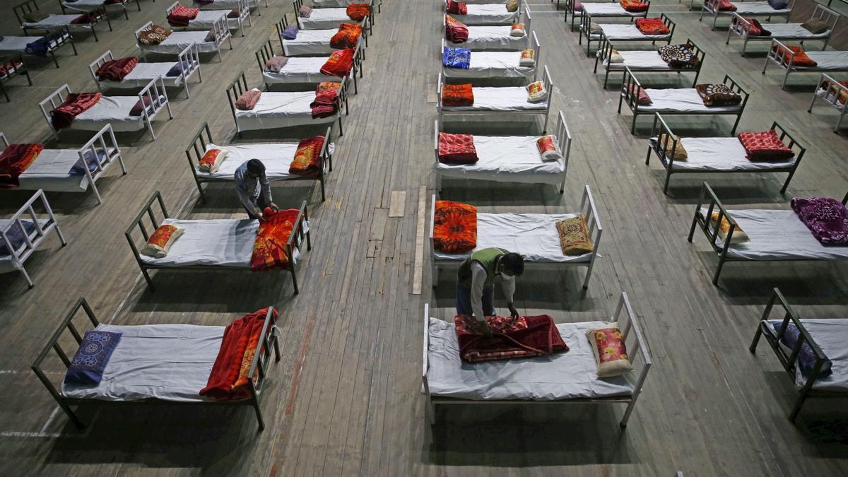 La India está en plena crisis sanitaria por la covid.