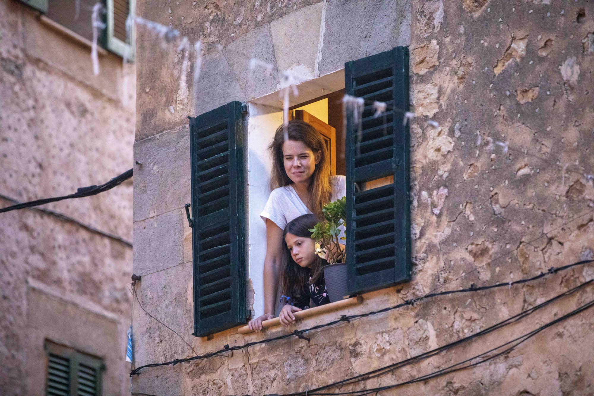 La Beata vuelve a recorrer Valldemossa