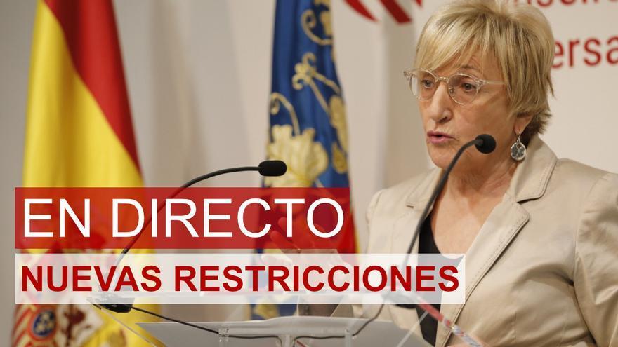 Barceló anunciará esta tarde las nuevas restricciones para la Comunidad Valenciana
