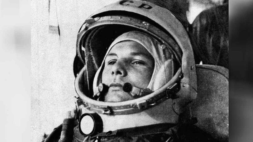 Yuri Gagarin, el campesino que viajó a las estrellas
