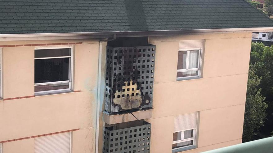 VÍDEO | Incendio sin víctimas en la avenida de Valladolid