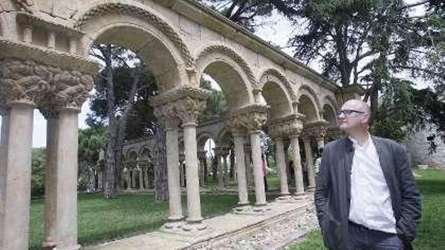 El claustro de Palamós es románico y salmantino