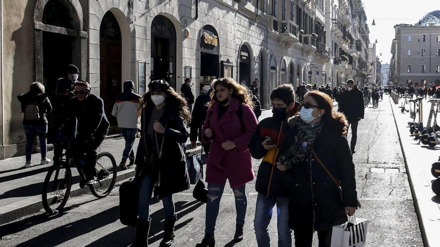Italia suma 12.415 nuevos casos y 377 muertos por coronavirus en un día