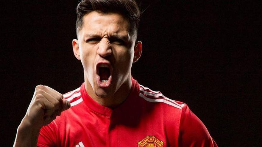 El Manchester United confirma el fitxatge d'Alexis Sánchez