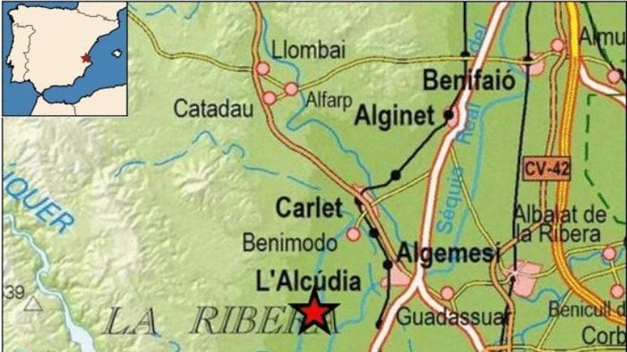 Terremoto de 2,6 grados en Benimodo y Xeraco