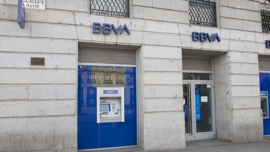 El BBVA registra pérdidas de 15 millones hasta septiembre