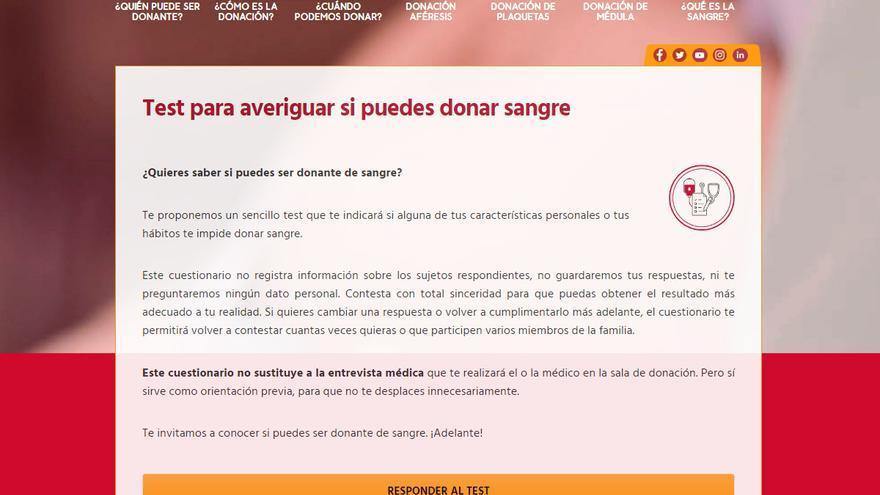 El ICHH crea un cuestionario para posibles donantes