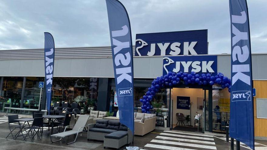 Èxit de l'obertura del nou centre de JYSK a Empuriabrava