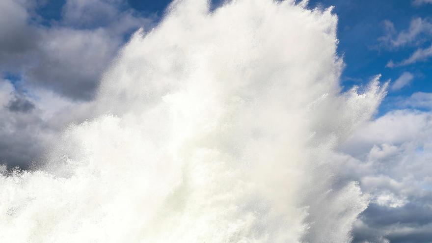 Mahón registra una ola de 14,8 metros, un récord de altura en Baleares
