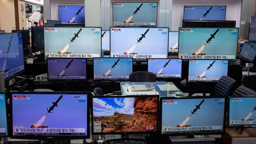 Corea del Norte lanza proyectiles no identificados hacia el mar