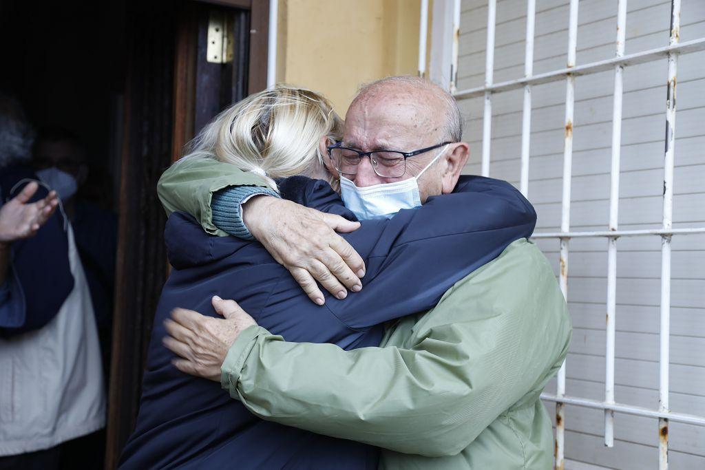 Impiden el desalojo de la vivienda de un jubilado en Cabo de Palos