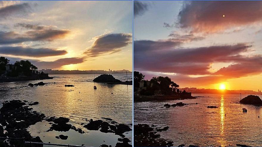 Las puestas de sol en Santa Cruz triunfan en las redes sociales