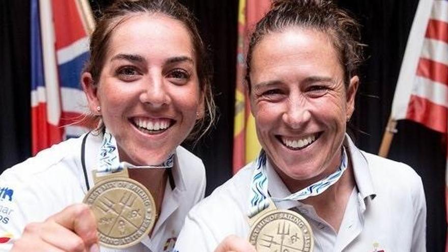 Tamara Echegoyen y Paula Barceló, oro en el Mundial