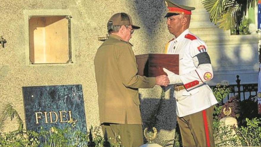 Fin del largo adiós a Fidel