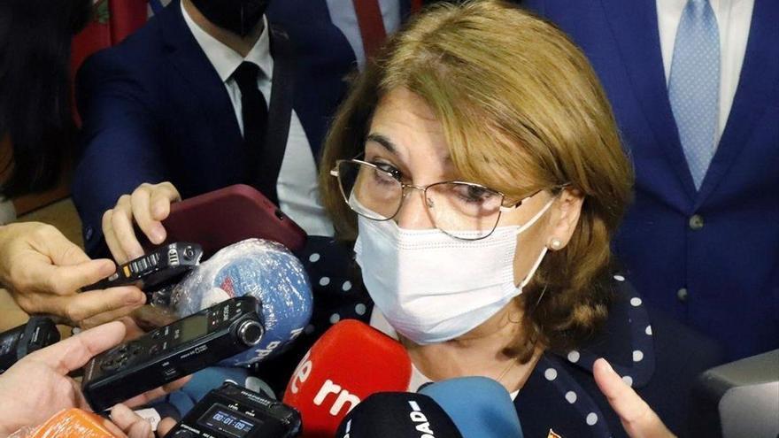 La consejera de Educación de Murcia no quiere vacunarse del covid