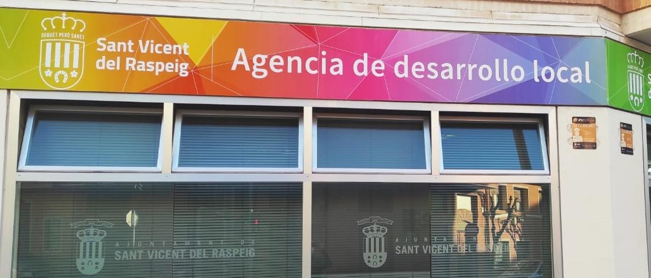 Fachada de la Agencia de Desarrollo Local de San Vicente del Raspeig.