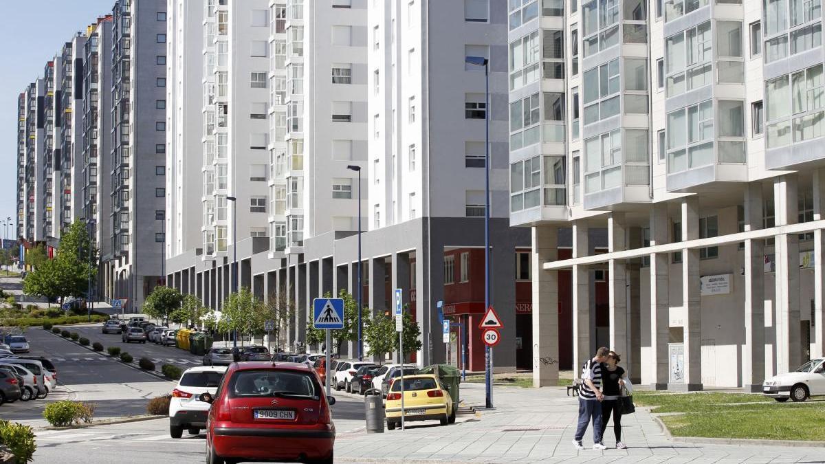 La detención tuvo lugar en la zona de Teixugueiras. // José Lores